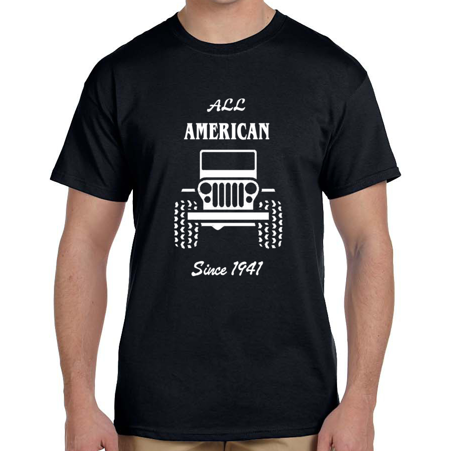 All American Jeep T-Shirt