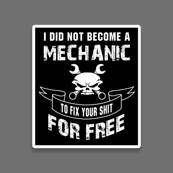 Become mech sticker